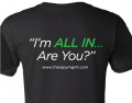 All In Shirt back