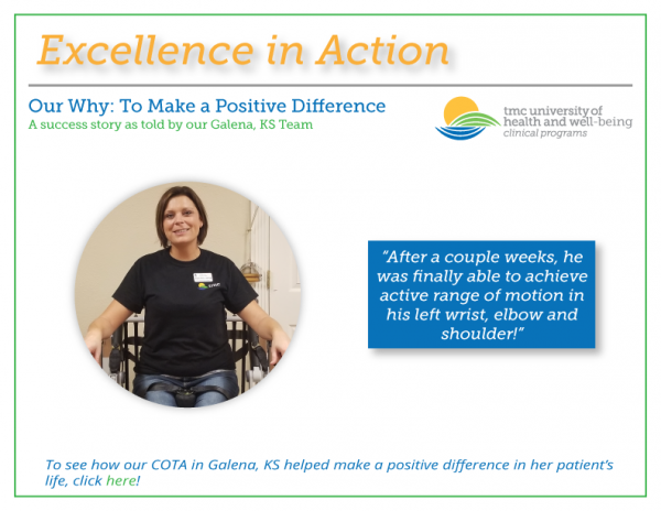 Excellence in Action! – Our Why: To Make a Positive Difference