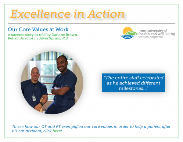 Excellence in Action! – Our Core Values at Work
