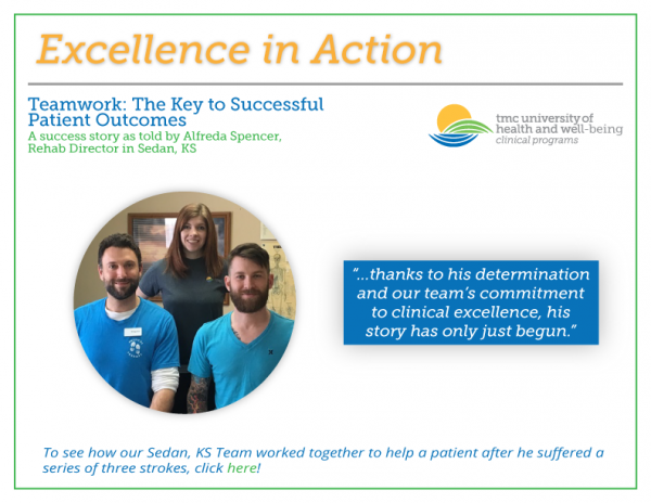 Excellence in Action! – Teamwork: The Key to Successful Patient Outcomes