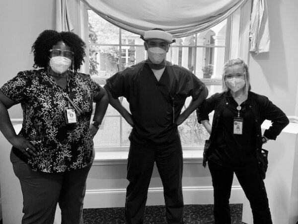Excellence in Action: Therapy and Restorative Superheroes of Care – A True Team Effort!
